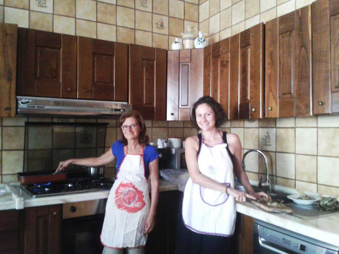 Italian Cooking Class with Italia Homestay